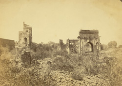 Ruins of Beejapore. 254349